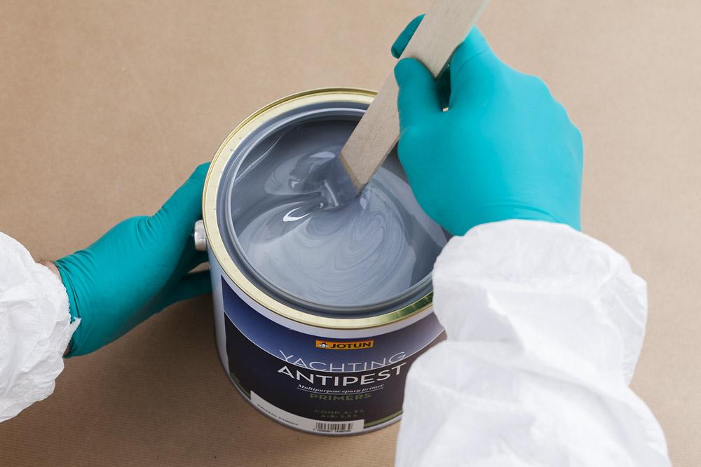Rør opp malingen