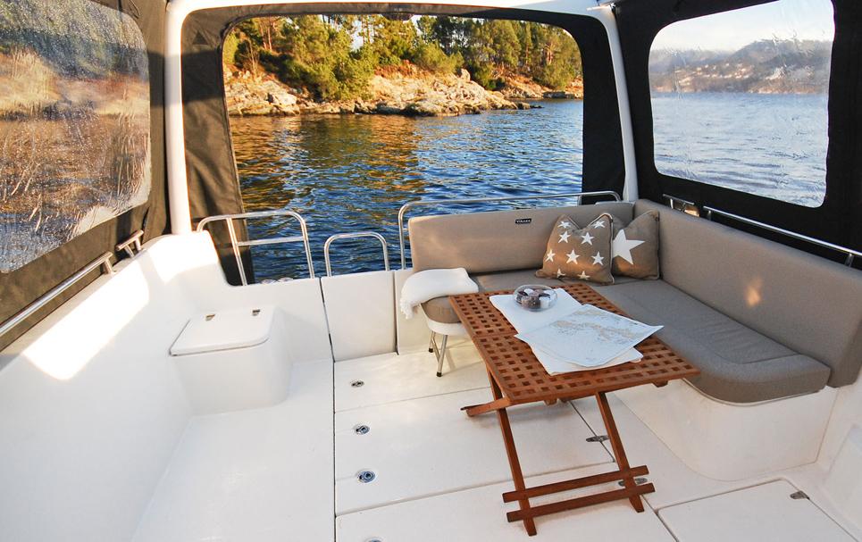 Enda bedre utsikt fra båten: slik rengjør du kalesjevinduer