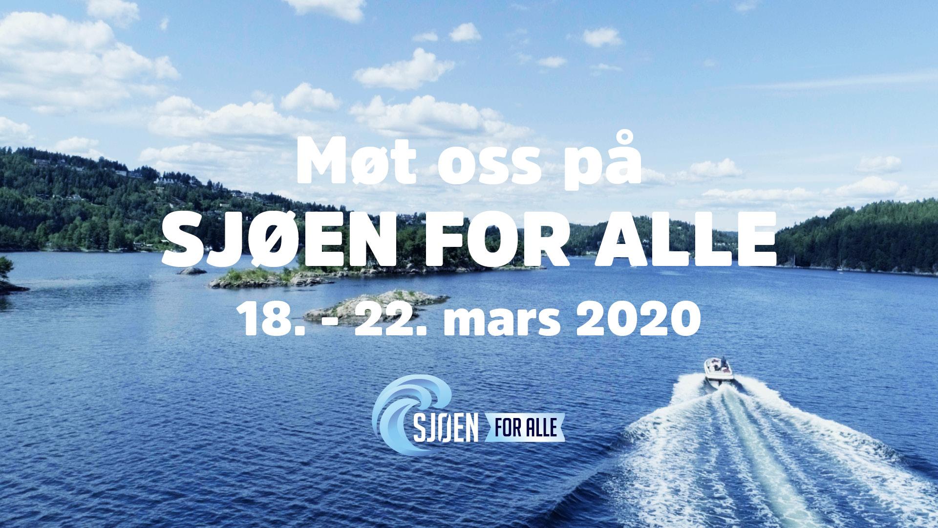 Sjøen For Alle 2020 er dessverre avlyst